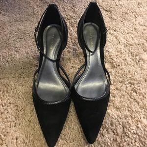 Ann Taylor black high heels